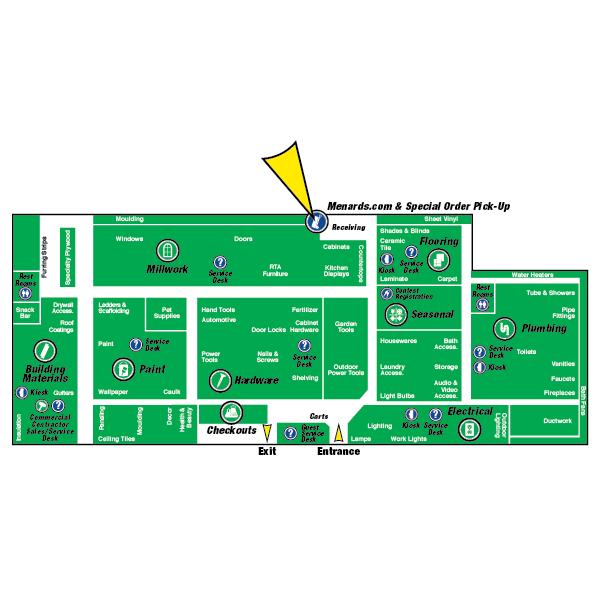 Menards hardware locations / Half price books marketplace