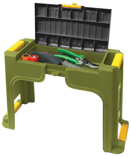 Garden kneeler seat at menards for Gardening tools menards