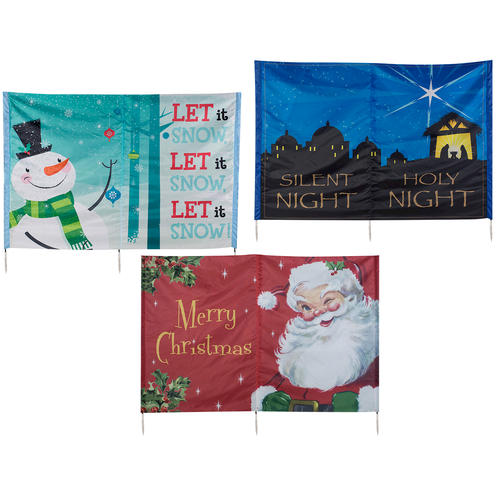 53 Quot X 66 Quot Yard Card With Light Assorted Styles At Menards 174