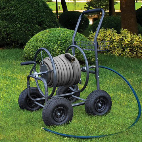 4 wheel hose reel cart at menards