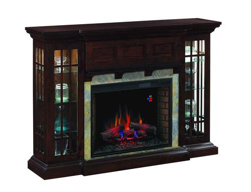Auburn Curio Electric Fireplace At Menards