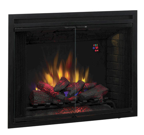 39 Electric Built In Fireplace Insert At Menards