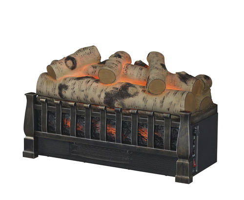 Electric Birch Log Set With Heater At Menards 174