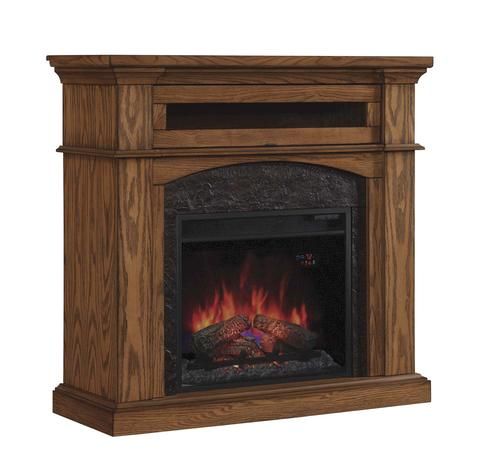 42 Oakwood Dual Mantel In Premium Oak At Menards