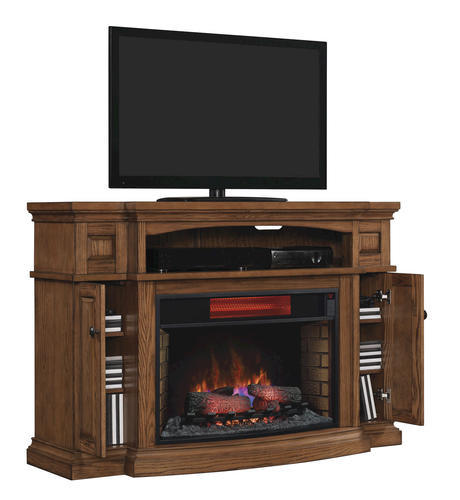 Electric Fireplace Insert Menards Fireplace Electric: Midway Electric Fireplace In Premium Oak At Menards®