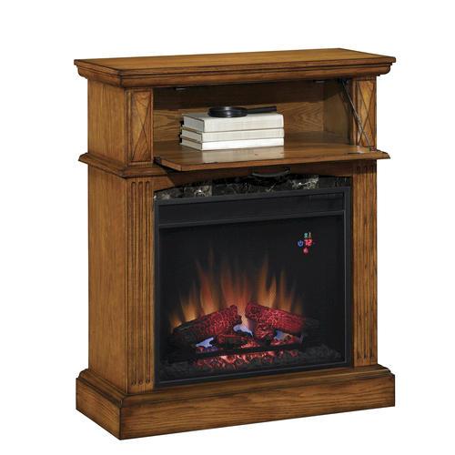 Electric Fireplace Insert Menards Fireplace Electric: Lakewood Electric Fireplace Mantel In Premium Oak At Menards®