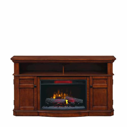 Westville Media Mantel With Insert In Mahogany At Menards