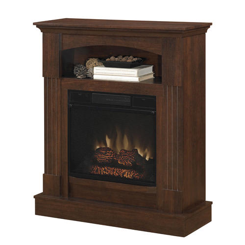 Morrison Electric Fireplace Set At Menards