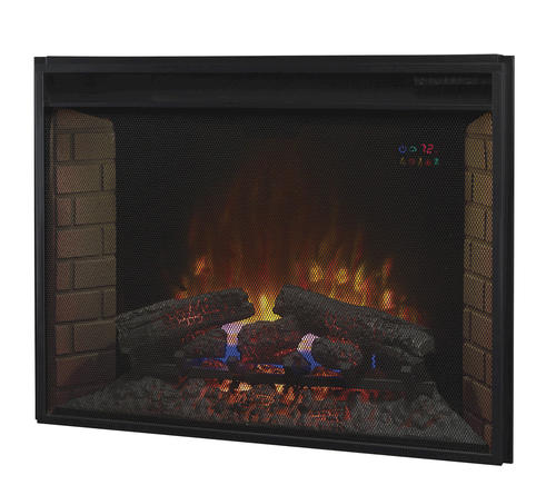 """Electric Fireplace Insert Menards: 33"""" Spectrafire Plus Insert With Screen Front At Menards®"""