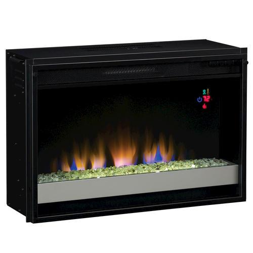 "Electric Fireplace Insert Menards: 26"" Fixed Glass Front Electric Insert At Menards®"