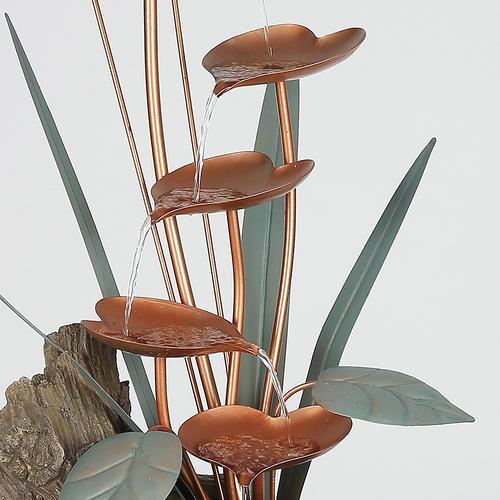 30 Metal Leaves Fountain At Menards