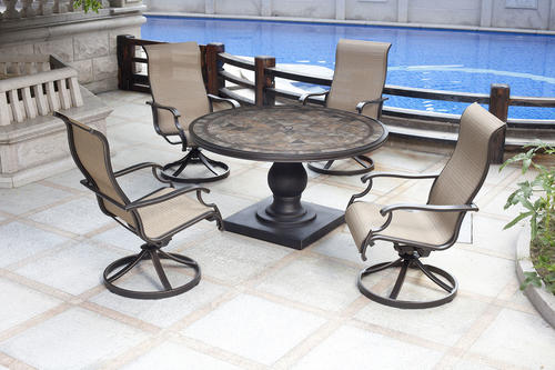 Backyard Creations Murano 5 Piece Patio Collection at Menards