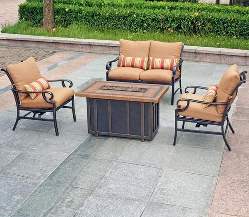Patio Furniture  Pc Set Orchard Valley Collection