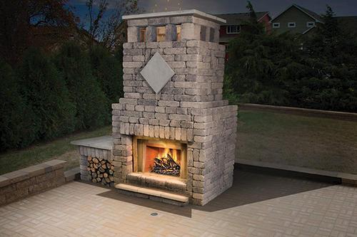 Bradford Fireplace At Menards