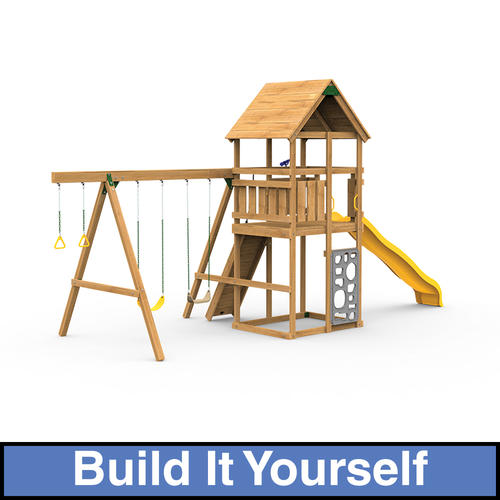Playstar legacy starter build it yourself playset at menards for Build it yourself swing set