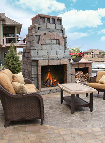 Webster Fireplace With 1 Woodbox At Menards