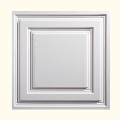 Genesis Designer 2u0026#39; x 2u0026#39; PVC Icon Relief Lay-In Ceiling Tile at Menardsu00ae