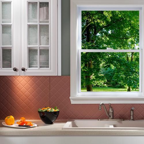 fasade quilted 18 x 24 pvc backsplash panel at menards