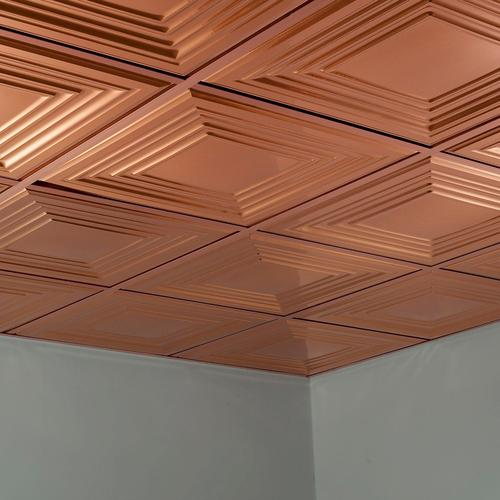 Fasade Traditional 3 2 39 X 2 39 Pvc Lay In Ceiling Tile At Menards