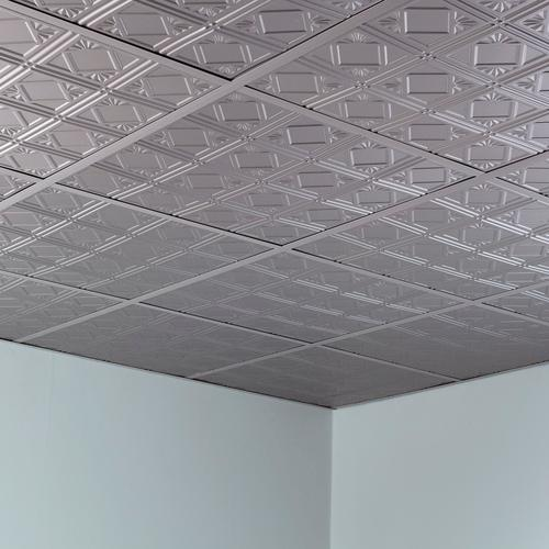 fasade traditional 4 2 39 x 2 39 pvc lay in ceiling tile at