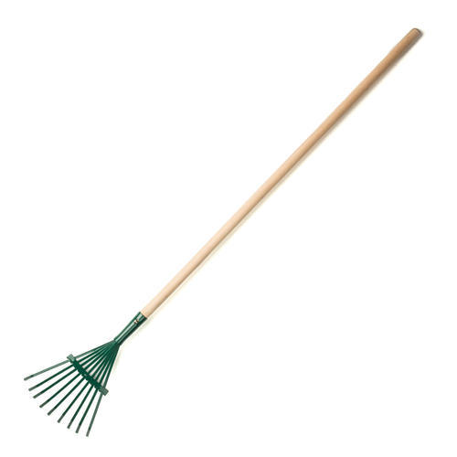 Metal shrub rake at menards for Large rake garden tool