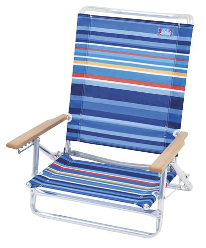 5 Position High Back Beach Chair at Menards
