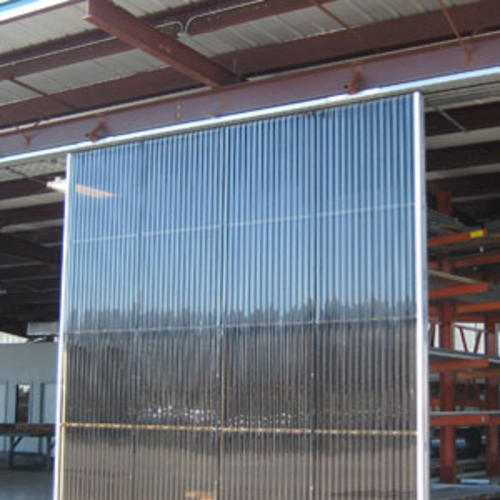 Clear Corrugated Panels : Greca square wave quot clear corrugated polycarbonate