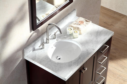 Offset Sink Vanity Top : ...