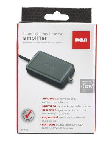 RCA AMP1450F Digital Signal Amplifier for Indoor Antennas