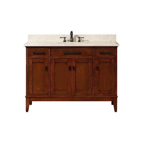 Azzuri hudson 48 tobacco finish vanity at menards - Menards bathroom vanities 48 inches ...