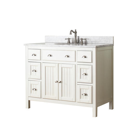 Avanity Hamilton 42 In Vanity In French White Finish At Menards