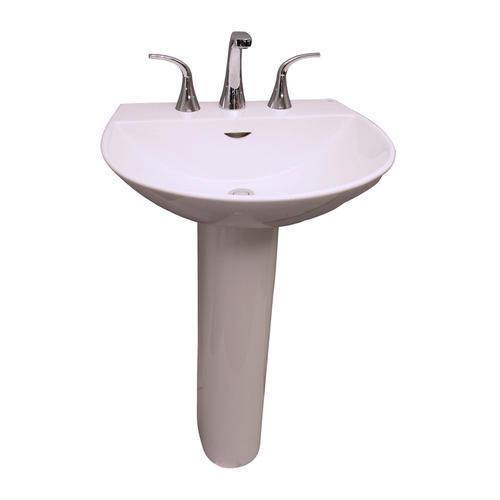 Barclay Reserva 600 Pedestal Sink, 4
