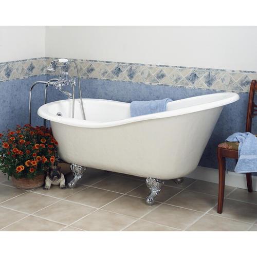barclay 60 acrylic slipper tub ball claw feet no
