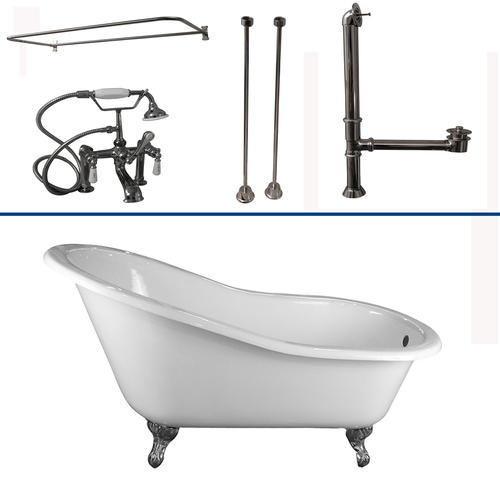 Barclay Tub Kit 67 Quot Cast Iron Slipper Tub With Filler