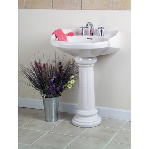 Barclay Victoria Pedestal Sink, 8