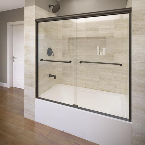 Basco Infinity 4400 Frameless Sliding Tub Enclosure 1 4