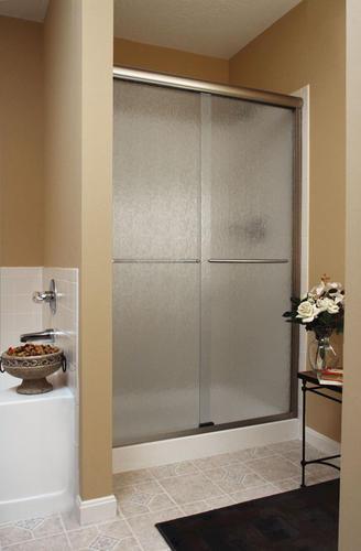 Basco Infinity 4500 Frameless Sliding Shower Enclosure 1