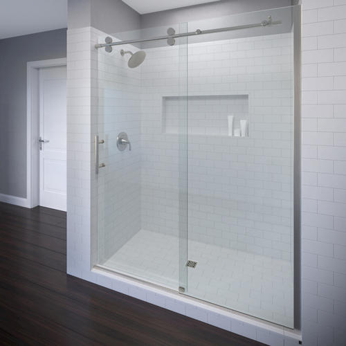 Roda by basco vinesse lux rolling door and fixed panel