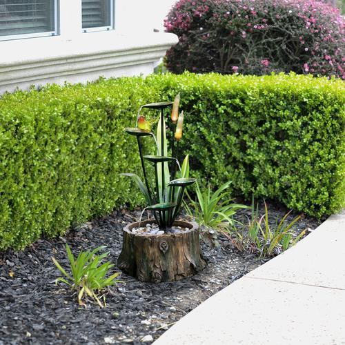 Enchanted Garden 29 Coral Bells Fountain At Menards
