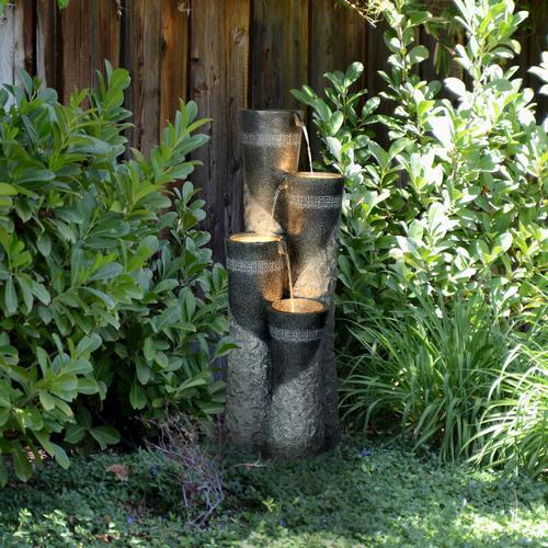 Enchanted Garden 41 Hudson Fountain At Menards