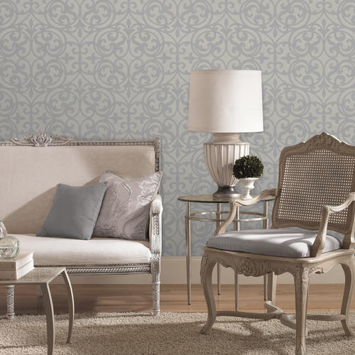 sonata grey ironwork wallpaper at menards