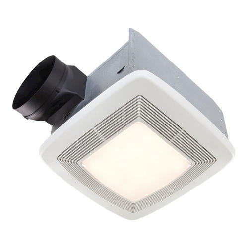 Broan® Quiet Ceiling Bath Fan with Light and Night Light ...