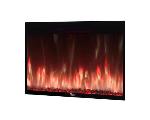 Caesar 48 Quot Electric Fireplace Insert At Menards 174