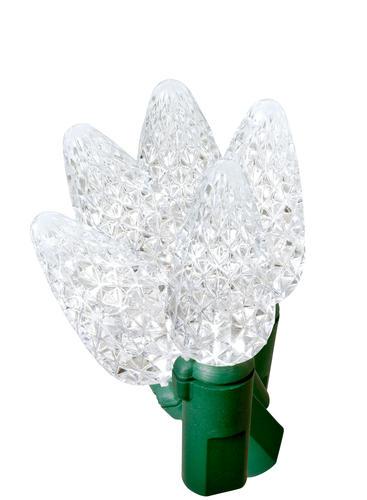 smart 100 light c5 led crystal ice christmas light set at menards. Black Bedroom Furniture Sets. Home Design Ideas