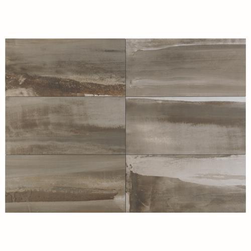 milled taupe porcelain tiles 6 x 24 at menards. Black Bedroom Furniture Sets. Home Design Ideas