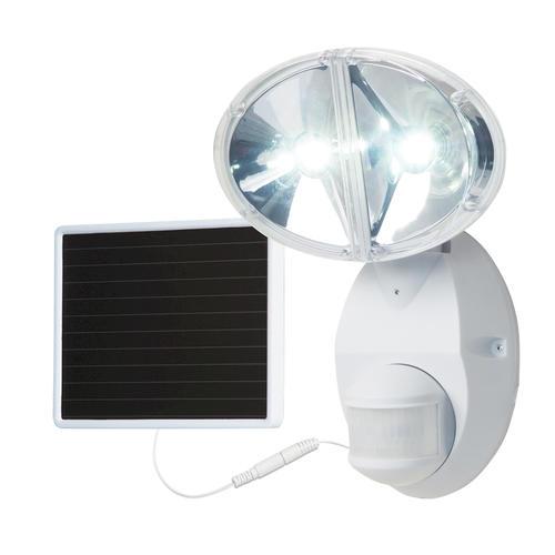 Solar Lights At Menards: Cooper Lighting 180-Degree 2-Head LED Solar Motion