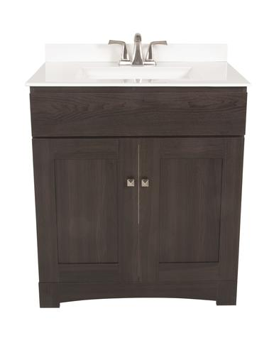 Monroe collection 30 x 21 vanity base at menards - Menards bathroom vanities 48 inches ...