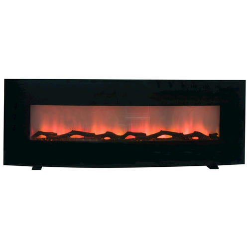 Curved 60 Wall Mount Electric Fireplace At Menards