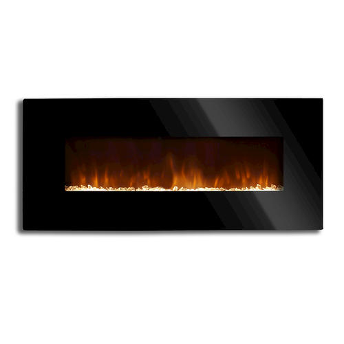 Flat 54 Wall Mount Electric Fireplace At Menards