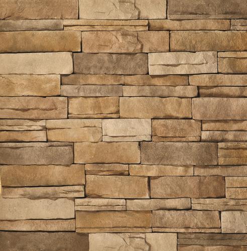 Clipstone tan ledgestone corners 8 lin ft at menards for Mortarless stone siding